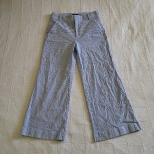 BANANA REPUBLIC Linen Blend Wide Leg Pants 8S